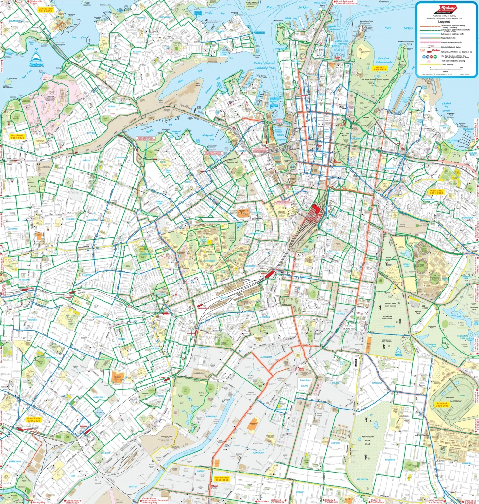 Sydney Maps   Australia   Maps Of Sydney - Printable Map Of Sydney Suburbs