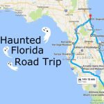 Take This Awesome Road Trip To Florida's Most Haunted Places   Wisconsin To Florida Road Trip Map