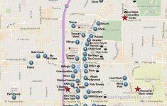 Las Vegas Tourist Map Printable