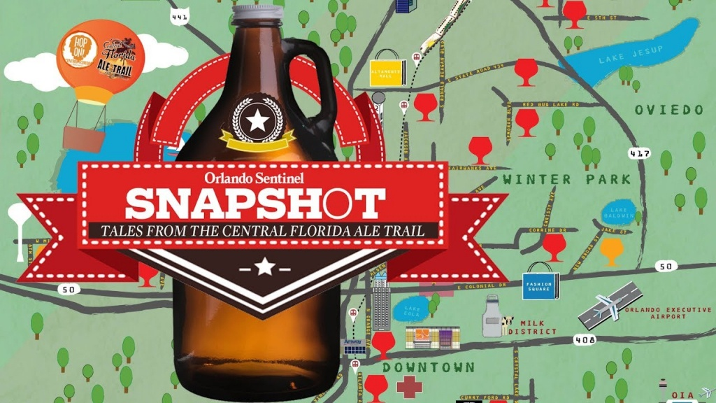 Tales From The Central Florida Ale Trail - Youtube - Central Florida Ale Trail Map