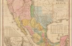Antique Texas Map