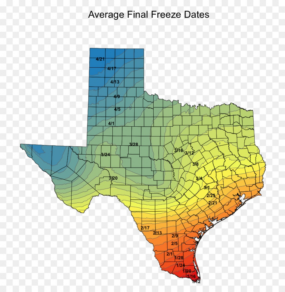 Temperature Texas Sorghum Paper Sowing - Others Png Download - 814 - Texas Temperature Map