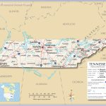 Tennessee Map Major Cities | Sitedesignco   Printable Map Of Tennessee With Cities
