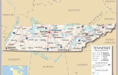 Tennessee Map Major Cities | Sitedesignco – Printable Map Of Tennessee With Cities