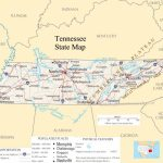 Tennessee Pictures | Tennessee State Map   A Large Detailed Map Of   Printable Street Map Of Pigeon Forge Tn