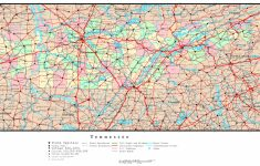 State Map Of Tennessee Printable
