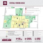 Texas A&m Football Gameday   12Thman   Texas A&m Parking Map