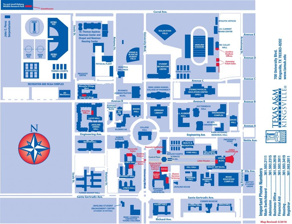 Texas A&m University Kingsville - Texas A&m Housing Map