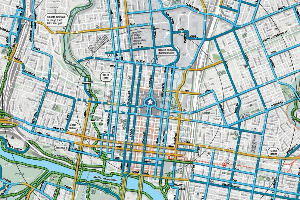 Texas Bicycle Route Maps Biketexas - Oukas - Austin Texas Bicycle Map