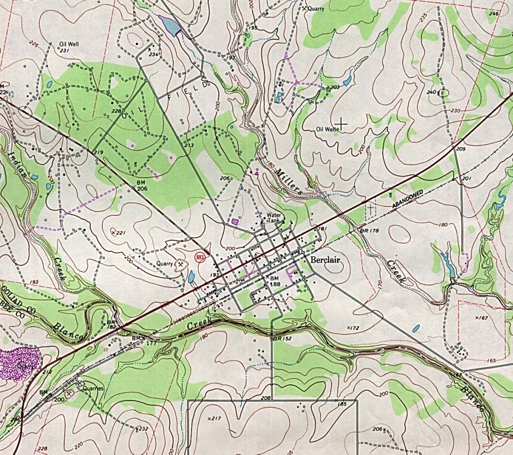 Texas City Maps - Perry-Castañeda Map Collection - Ut Library Online - Google Maps Mesquite Texas