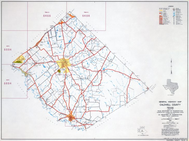 Howard County Texas Section Map