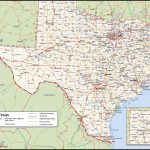 Texas County Wall Map   Texas Wall Map