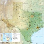 Texas Elevation Mapcounty | Woestenhoeve   Texas Elevation Map By County