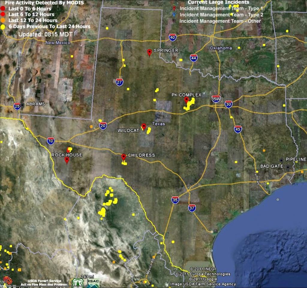 Texas Fire Map | Fysiotherapieamstelstreek - Current Texas Wildfires Map