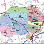 Texas Hill Country Map With Cities & Regions · Hill Country Visitor   Driving Map Of Texas Hill Country