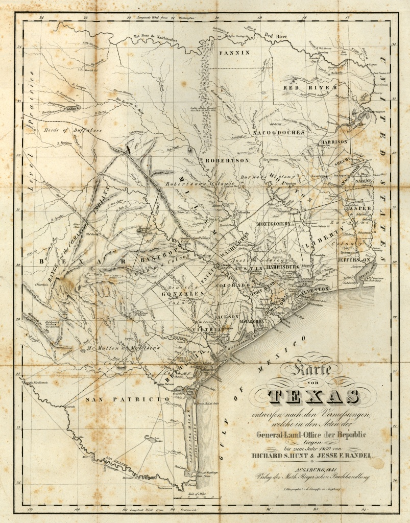 Texas Historical Maps - Perry-Castañeda Map Collection - Ut Library - Texas Forts Trail Map