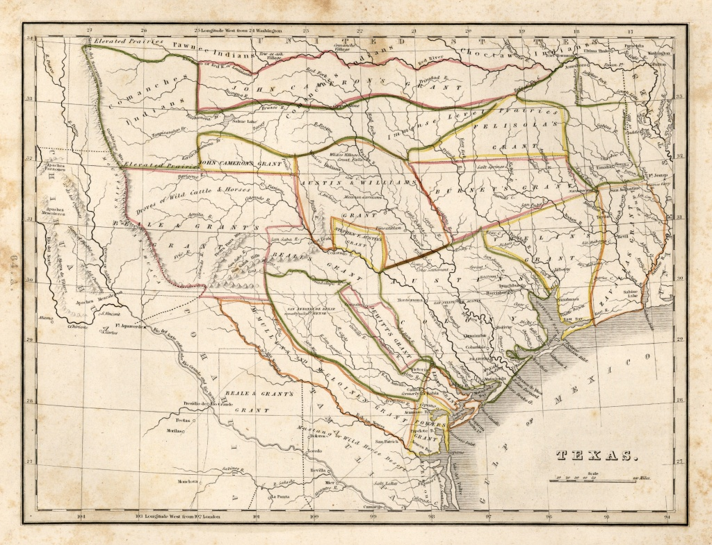 Texas Historical Maps - Perry-Castañeda Map Collection - Ut Library - Texas Maps For Sale