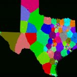 Texas House Of Representatives Redistricting   Texas House Of Representatives District Map