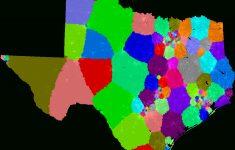 Texas House Of Representatives District Map