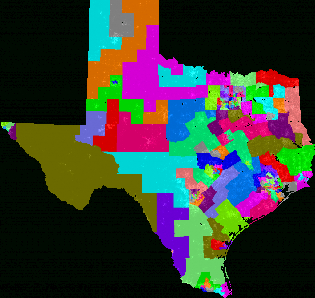 Texas House Of Representatives Redistricting - Texas State Representatives Map