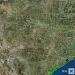 Texas Hunt Zone North Texas General Whitetail Deer   Texas Deer Hunting Zones Map