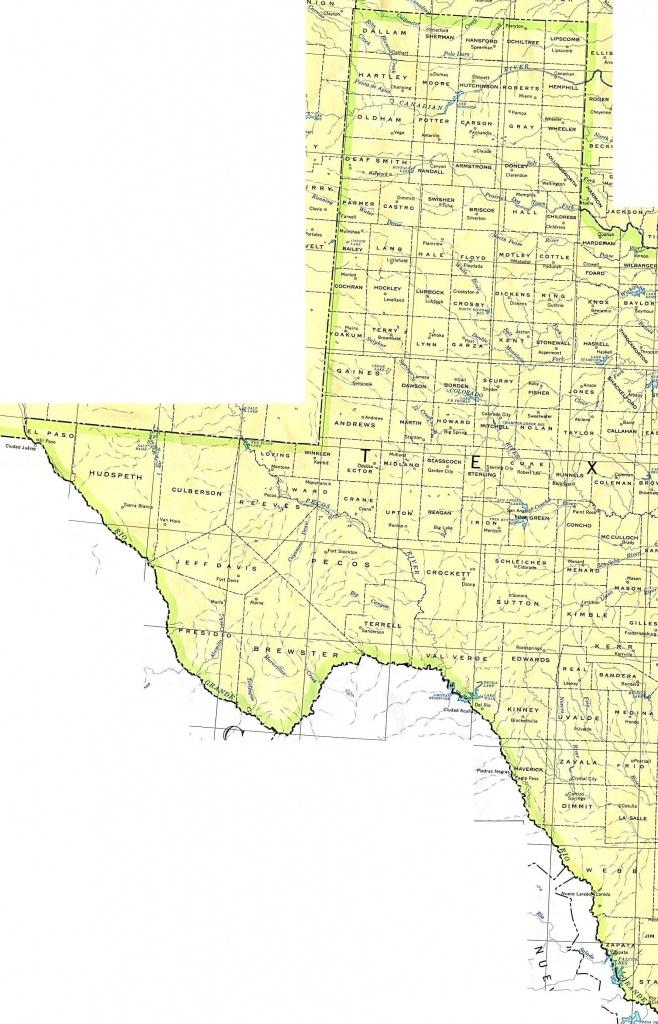 Texas Maps - Perry-Castañeda Map Collection - Ut Library Online - Colorado City Texas Map