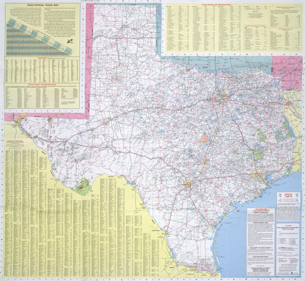 Texas Panhandle Road Map   Secretmuseum - Texas Panhandle Road Map