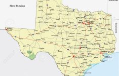 Texas Road Map Free
