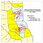 Texas Rrc   Haynesville/bossier Shale Information   Texas Railroad Commission Drilling Permits Map