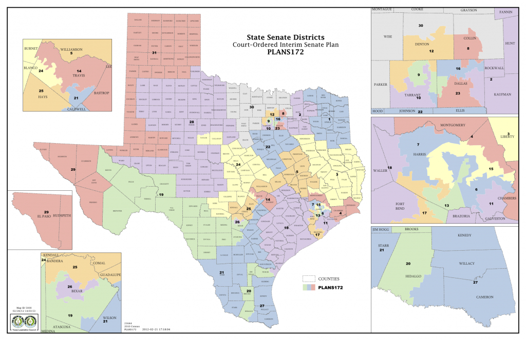 Texas Senate District Map | Business Ideas 2013 - Texas State Senate District 19 Map