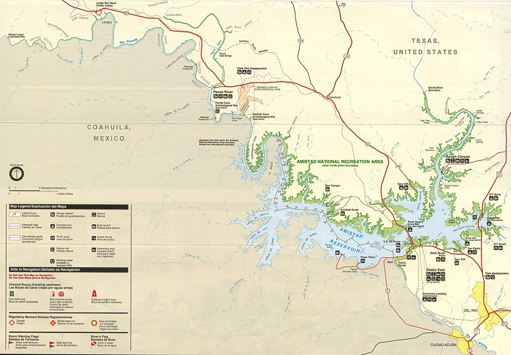 Texas State And National Park Maps - Perry-Castañeda Map Collection - Seminole Texas Map