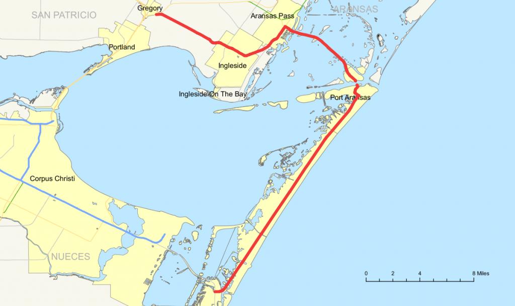 Texas State Highway 361 - Wikipedia - Map Of Port Aransas Texas Area