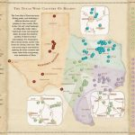 Texas Wine Country Map   Cherokee Texas • Mappery   Texas Wine Country Map