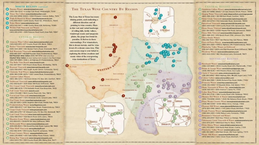 Texas Wine Country Map - Cherokee Texas • Mappery - Texas Wine Country Map