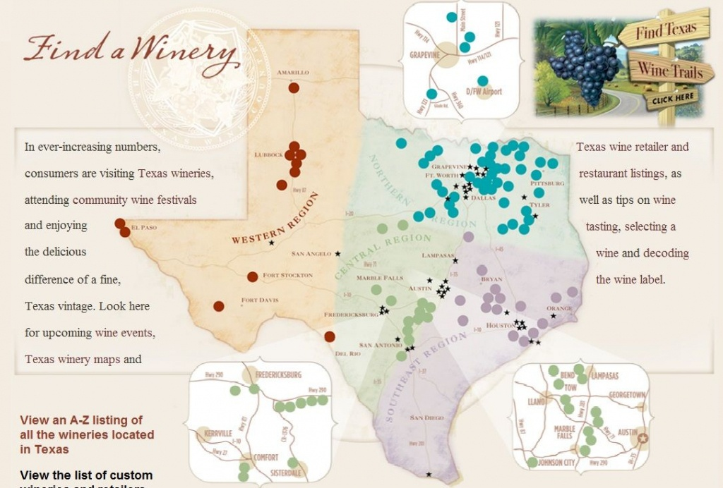Texas Wine Regions Map | Wine Regions In 2019 | Wine, Wines, Texas - Texas Wine Country Map