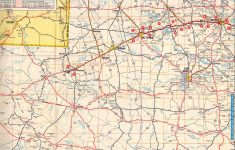 Texas Panhandle Road Map