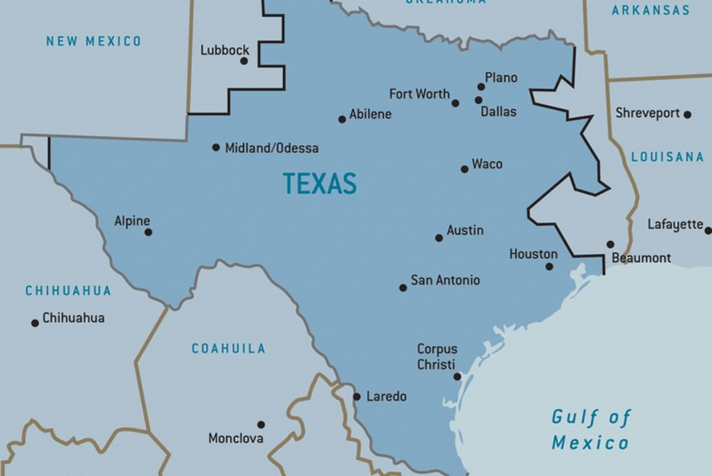 Texplainer: Why Does Texas Have Its Own Power Grid? | The Texas Tribune - Texas Electric Grid Map
