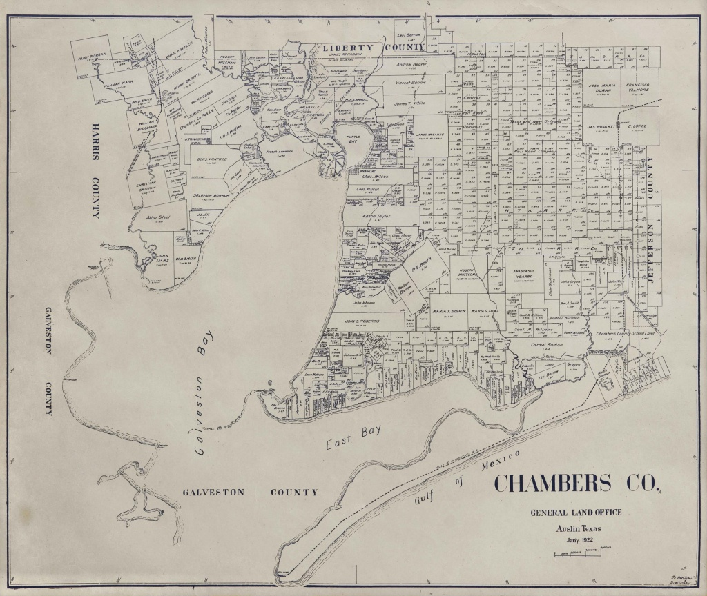 The Antiquarium - Antique Print & Map Gallery - F. Matzow, General - Texas Land Office Maps