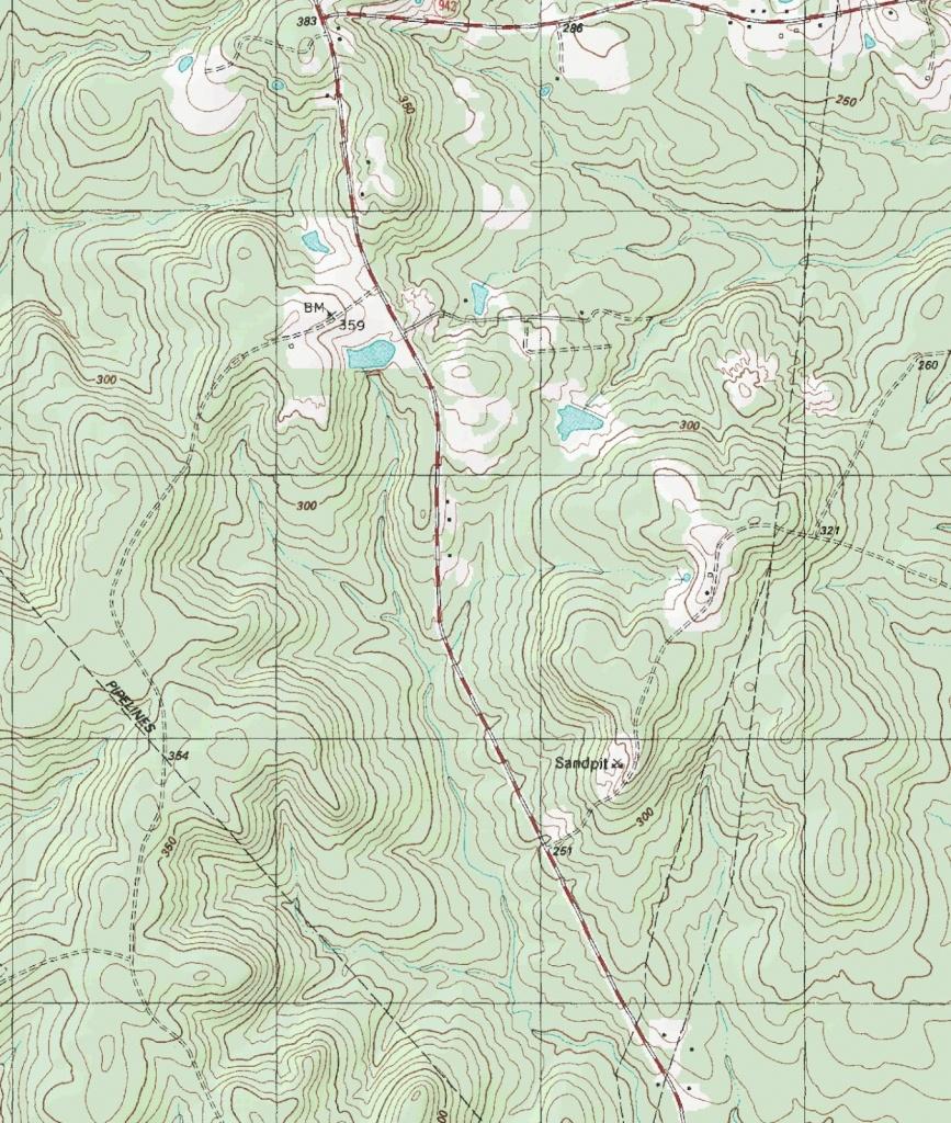 The Barefoot Peckerwood: Free Printable Topo Maps - Printable Topographic Maps