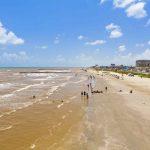 The Best Beaches Near Houston   Best Texas Beaches Map