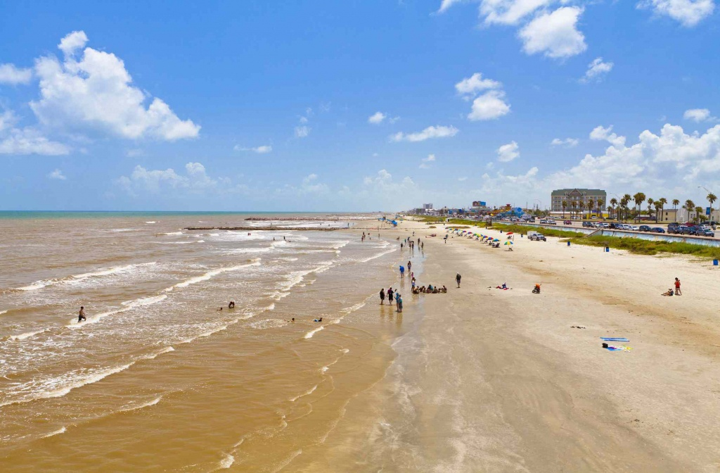 The Best Beaches Near Houston - Best Texas Beaches Map