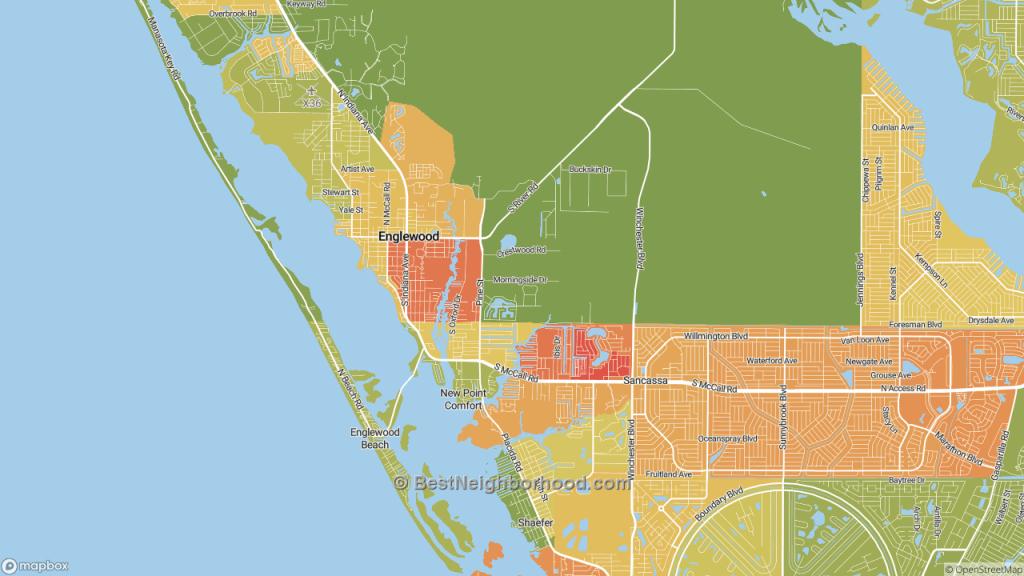 The Best Neighborhoods In Englewood, Flhome Value - Englewood Florida Map