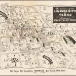 The Campus Of The University Of Texas. Austin, Texas. Map Originated   Map Store Austin Texas