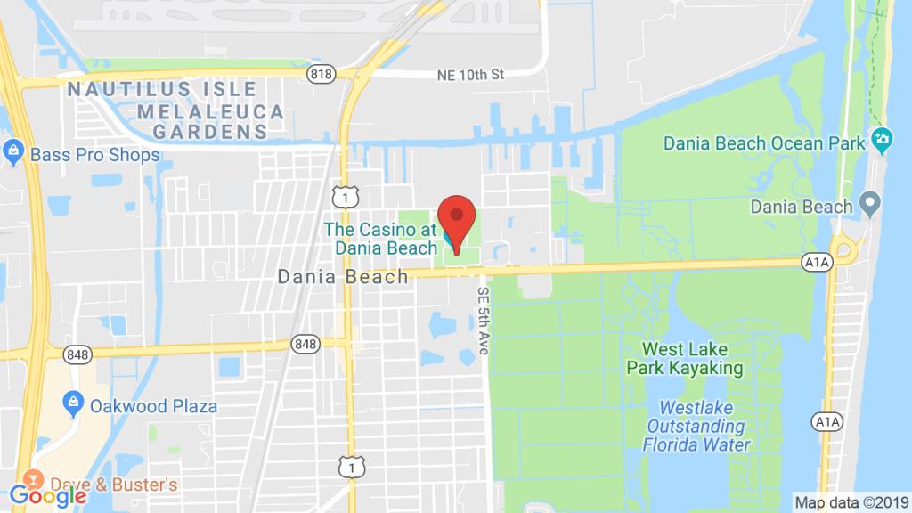 The Casino At Dania Beach In Dania Beach, Fl - Concerts, Tickets - Dania Beach Florida Map