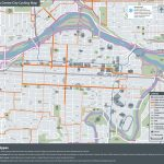 The City Of Calgary   Cycling And Walking Route Maps   Printable Map Of Calgary