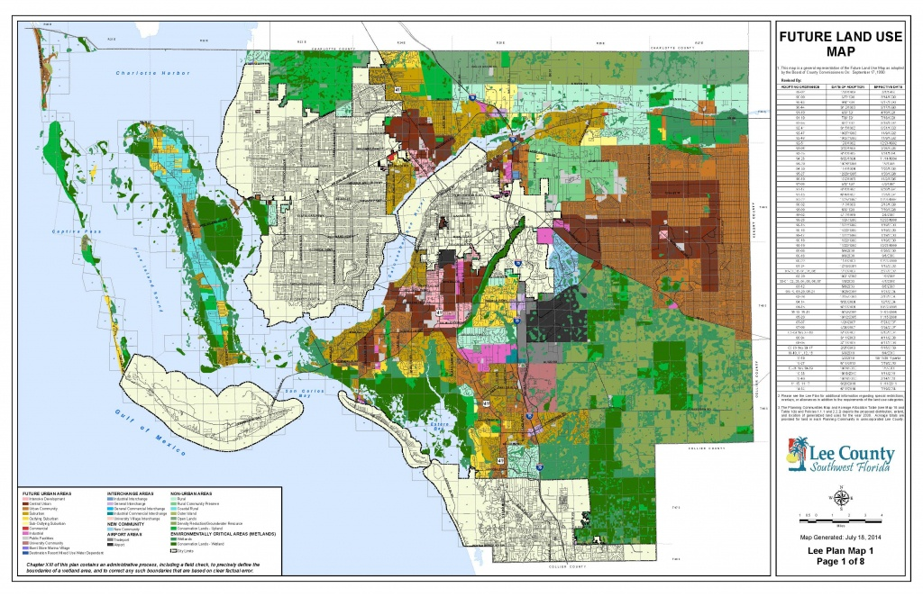 The Future Land Use Map - Florida Wetlands Map