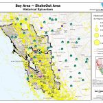 The Great California Shakeout   Bay Area   Usgs Recent Earthquake Map California