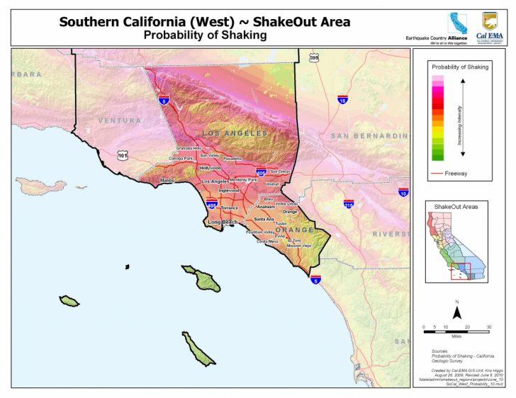Map Of Southern California Coastline