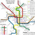 The New Circulators And The Metro Map – Greater Greater Washington   Printable Washington Dc Metro Map