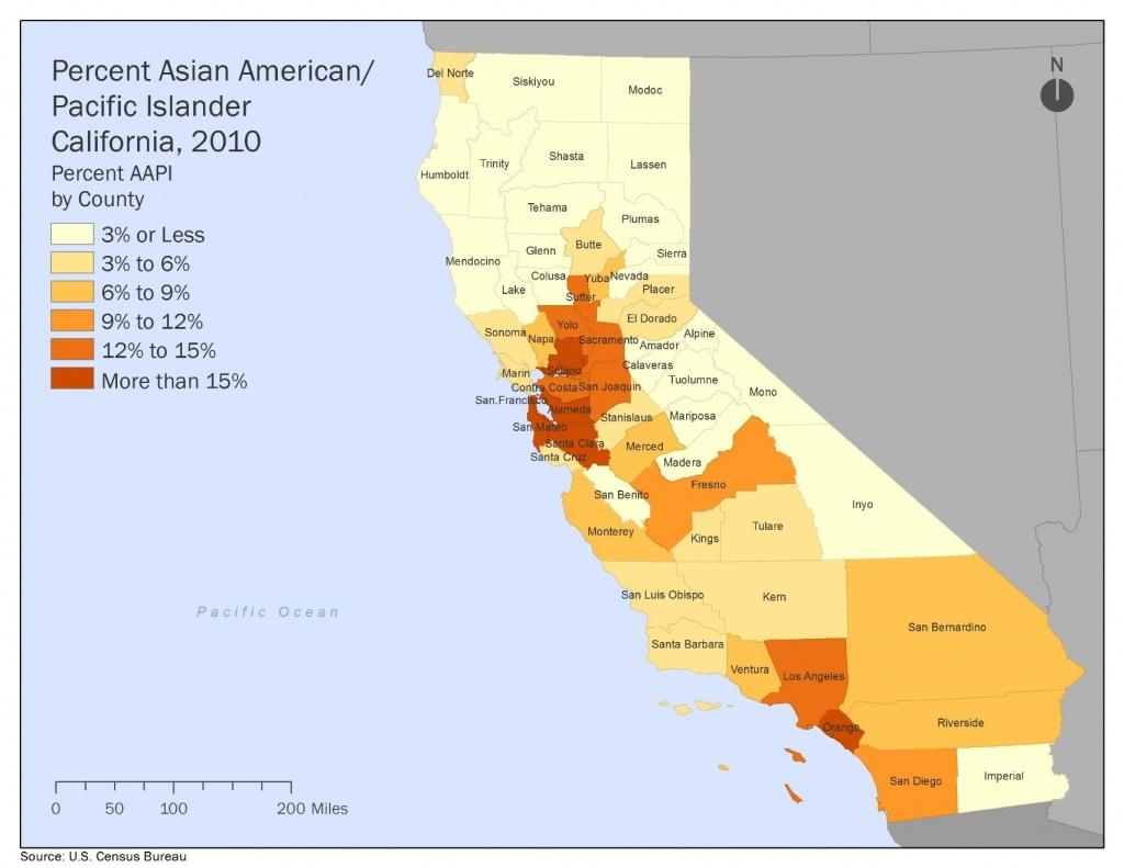 The Next California   Haas Institute - California Demographics Map